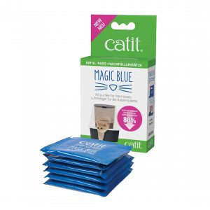 Catit Repuesto 6 Almohadillas Magic Blue
