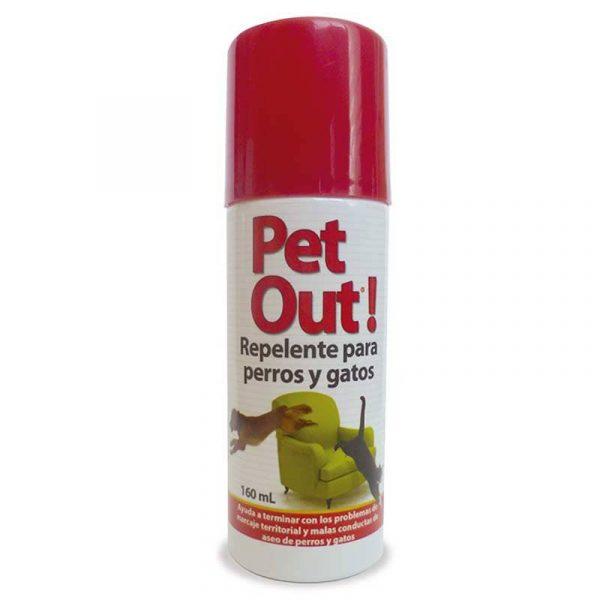 Pet Out Repelente Spray 160ml - Interiores