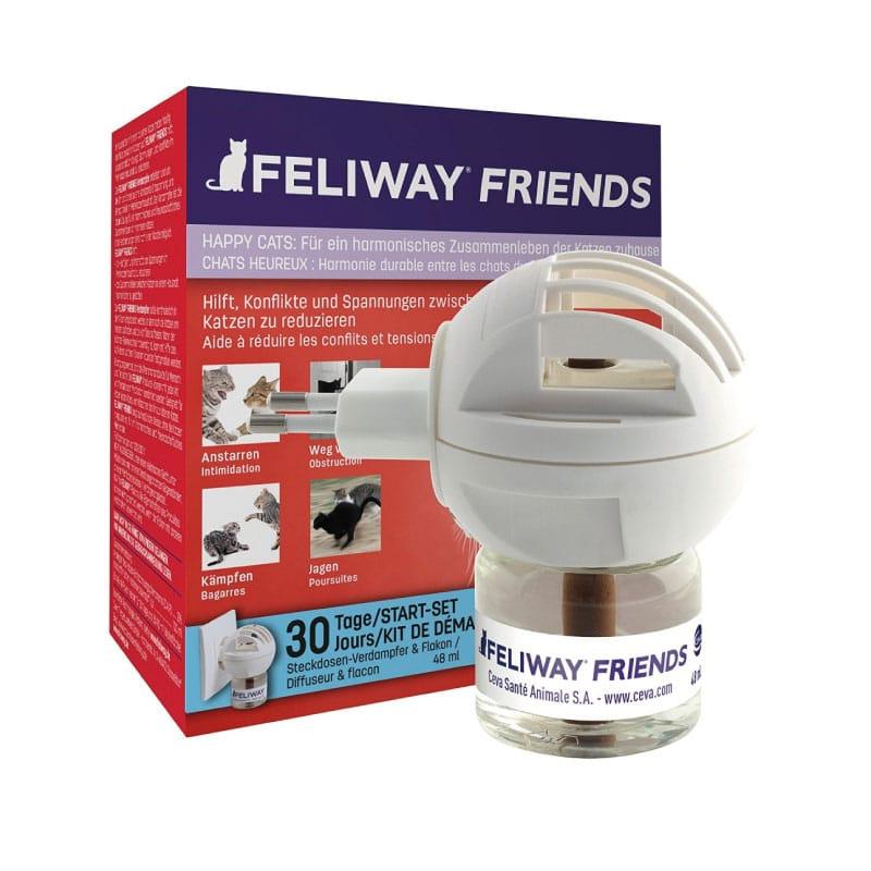 Feliway Friends Difusor + Repuesto 48ml