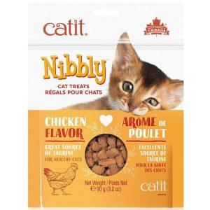 Catit Nibbly Sabor Pollo - Snack 90Grs