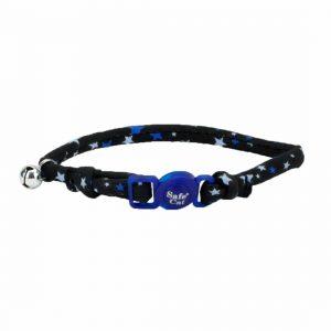 Coastal Collar Redondo Fashion Black Stars