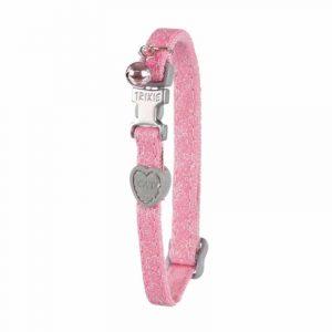 Trixie Collar Cierre Metalico Rosado