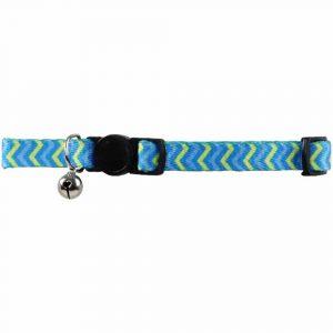 Pawise Collar Ajustable Azul Ondas