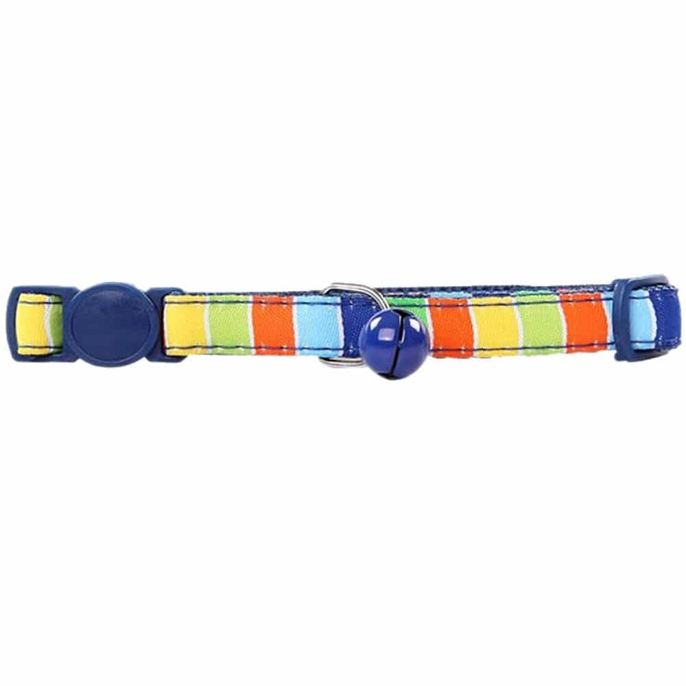 Pawise Collar Ajustable Colores Rayado