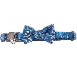 Pawise Collar Ajustable Con Humita Azul