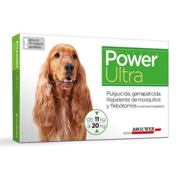 Power Ultra Antiparasitario Perro de 11 a 20 Kg