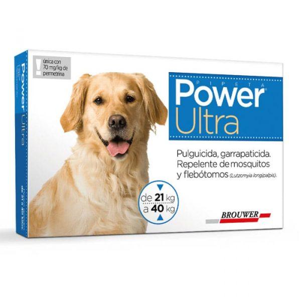 Power Ultra Antiparasitario Perro de 21 a 40 Kg