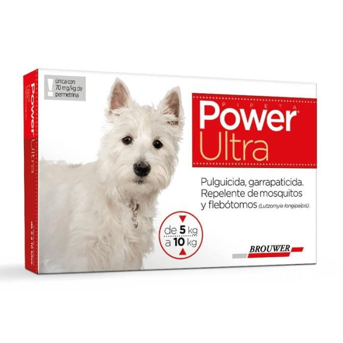 Power Ultra Antiparasitario Perro de 5 a 10 Kg