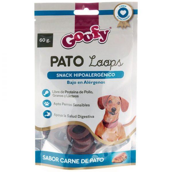 Goofy Pato Loops Snack Hipoalergénico 60gr