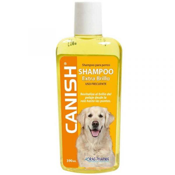 Canish Shampoo Extra Brillo - 390ml