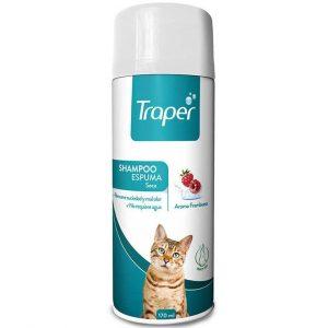 Traper Shampoo Espuma Seca Gato - 170ml