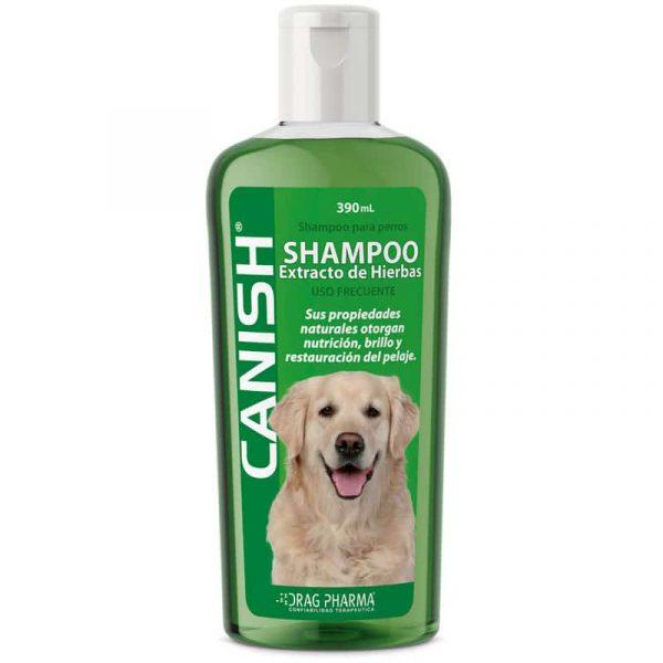 Canish Shampoo Extracto de Hierbas - 390ml