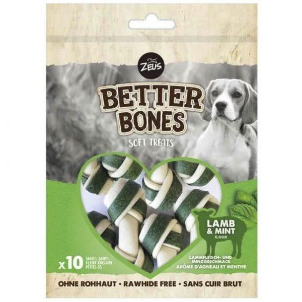 Zeus Better Bones Huesitos Cordero y Menta - 10 unidades 219gr