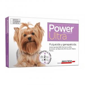 Power Ultra Antiparasitario Perro de 2 a 4 Kg