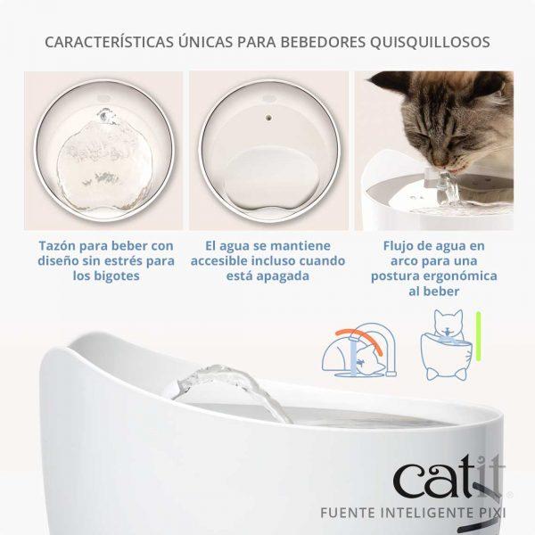 Catit Pixi Fuente Bebedero Smart