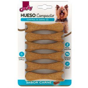 Goofy Hueso Compacto Raza Pequeña 6 Und