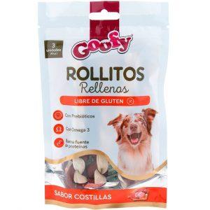 Goofy Rollitos Rellenos 3 Und - 60 gr