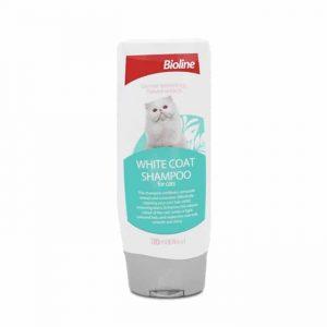Bioline Shampoo Gato Pelajes Claros
