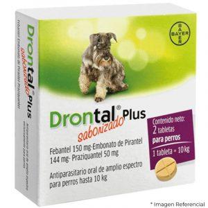 Drontal Gato Antiparasitario Interno 4Kg - 2 Tabletas
