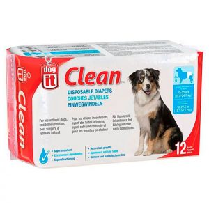 Dogit Pañales Desechables Talla Small 3.5 a 7 kg - 10 Unidades