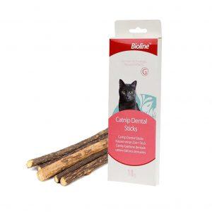 Bioline Catnip Dental Stick - Palitos de Catnip