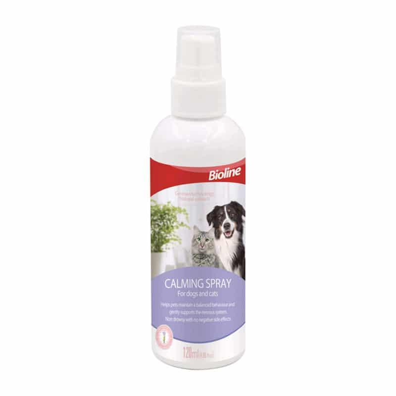 Bioline Calming Spray para Perros y Gatos 120ml
