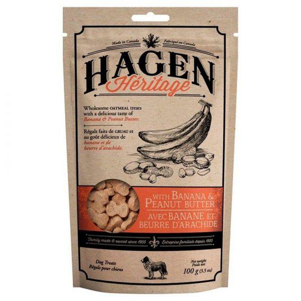 Hagen Heritage Banana y Mantequilla de Mani - 100gr