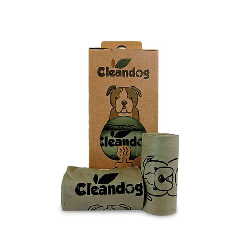 Cleandog Bolsas Biodegradables - 8 Rollos
