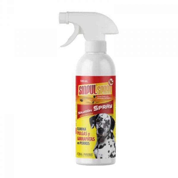 Sinpul Spray Anti Pulgas y Garrapatas 200ml