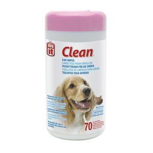 Dogit Toallitas Limpieza de Oidos - 70 Und